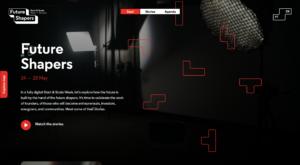 Website Future Shapers - Start & Scale Week 2021